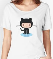 ★ Github octocat Women's Relaxed Fit T-Shirt
