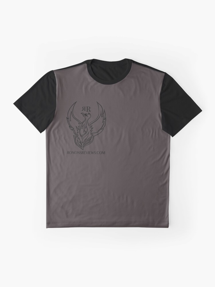 Alternate view of Ronon's Reviews Official Merch Graphic T-Shirt