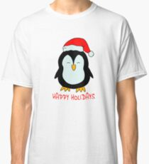 Sweet Christmas Penguin - little penguin Classic T-Shirt
