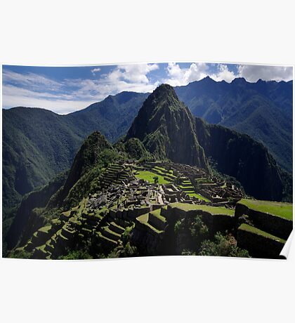 A New 7th Wonder - Machu Picchu - Peru Poster