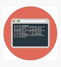Web development Photographic Print