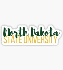 North Dakota State University Sticker