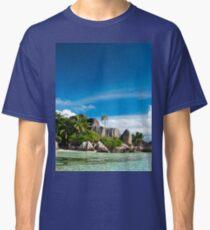 a colourful Seychelles landscape Classic T-Shirt