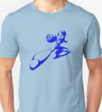X Blue Unisex T-Shirt