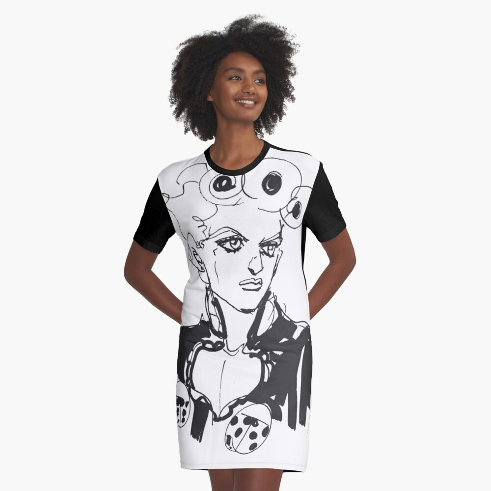 Giorno Golden Wind - JoJo's Bizarre Adventure  Graphic T-Shirt Dress
