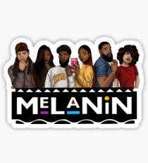 Melanin Squad Sticker