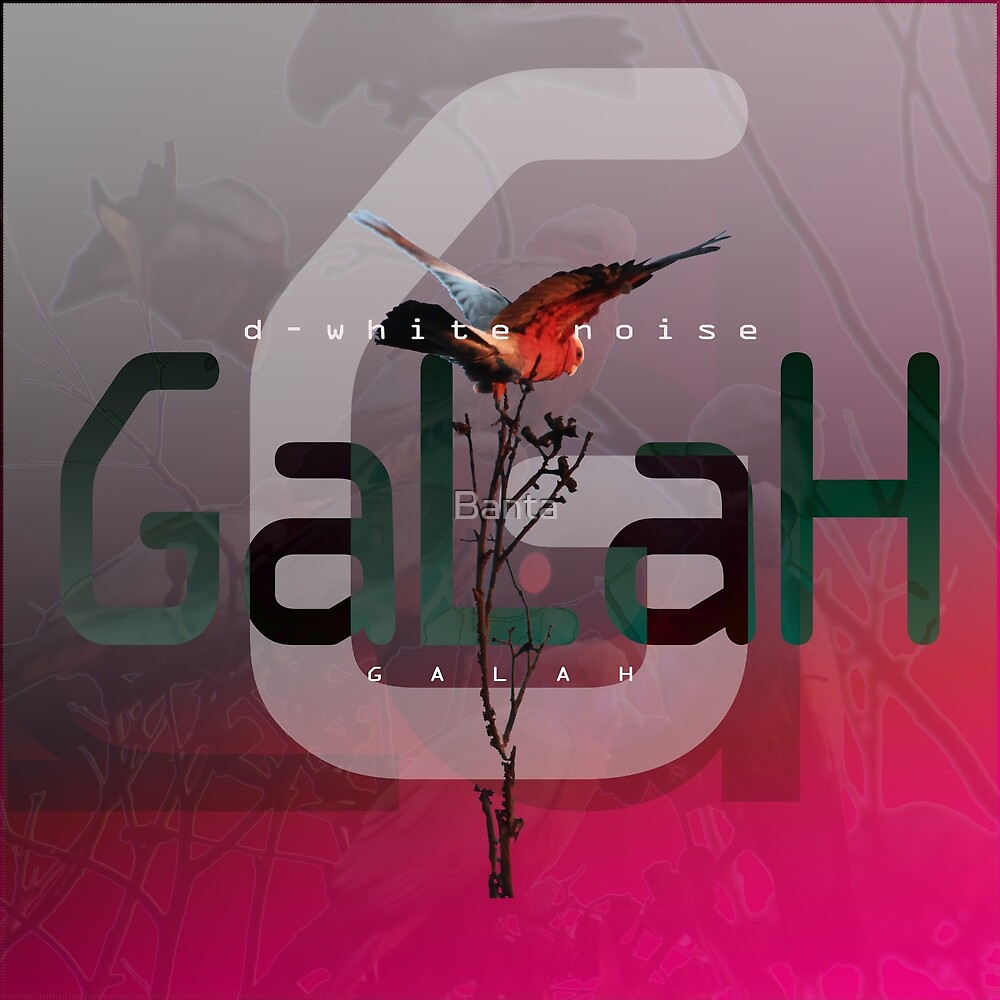 D-White Noise - Galah - Merch version 2 by Banta