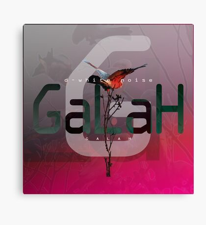 D-White Noise - Galah - Merch version 2 Canvas Print