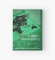 Eschaton Diagram - Infinite Jest Hardcover Journal