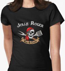Jolly Roger Bar-B-Crew Women's Fitted T-Shirt