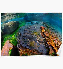Underwater seascape Poster