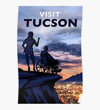 Visit Tucson Poster - Infinite Jest Poster