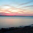 Wavy Sunset by Kym Howard