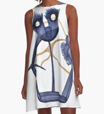 Father of Vegan Obstructionism A-Line Dress