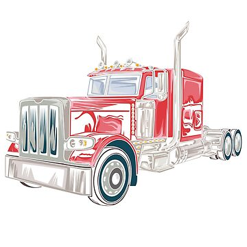 Big Rig Semi Truck Gift by UltimateTWorld