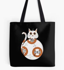 BB8 Cat Star Wars Tote Bag