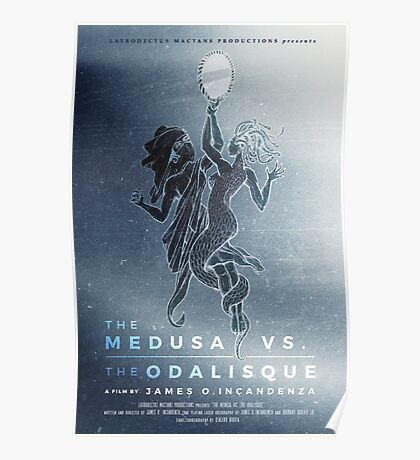 The Medusa vs The Odalisque movie poster Poster