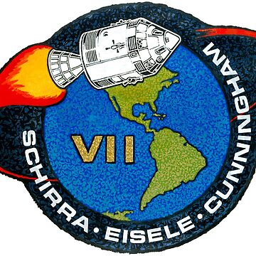 Apollo 7 Mission Patch by zachsbanks