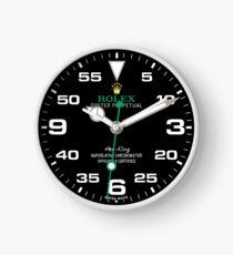 Rolex Air-King Face - 116900 - Black Dial Clock