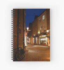 Cambridge Street Scene Spiral Notebook