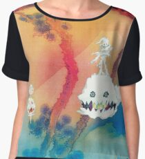 Kids See Ghosts (Ultra High-Res) Chiffon Top
