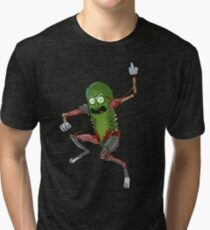 Pickle Rick Tri-blend T-Shirt
