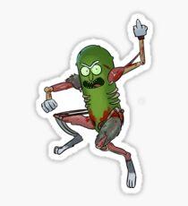 Pickle Rick Sticker