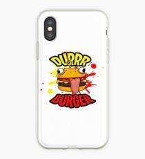 Durr Burger iPhone Case