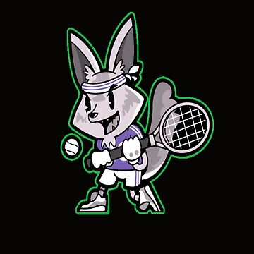 Tennis fox by sager4ever