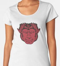 Werewolf in the Streets, Sleepy in the Sheets Women's Premium T-Shirt