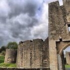 Farleigh Hungerford Castle ( 1 ) by Larry Davis