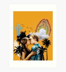 Romeo und Julia - Baz Luhrmann Kunstdruck