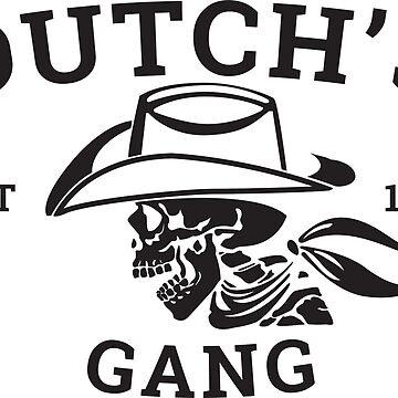 DUTCH'S GANG EST 1899 T-SHIRT by rosadinardo4