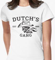 DUTCH'S GANG EST 1899 T-SHIRT Women's Fitted T-Shirt