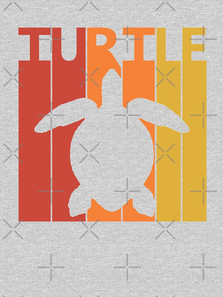 Vintage Retro Turtle by polveri