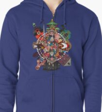 Spirited Away Zipped Hoodie