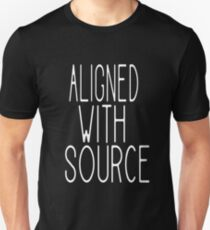 Aligned With Source Unisex T-Shirt
