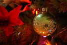 Green Antique Ornament by Colleen Drew