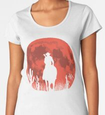 RED DEAL REDEMPTION 2 -RED MOON COWBOY T-SHIRT Women's Premium T-Shirt