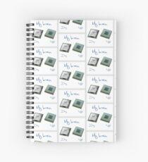 New chip old chip brain  Spiral Notebook