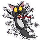 Pixel The Cowardly Cat! by Rowena Aitken