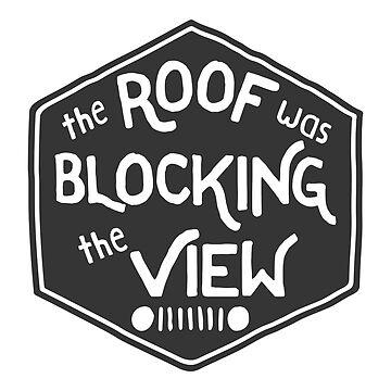 Das Dach blockierte die Aussicht von its-anna