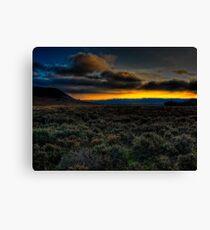 Levisham Sunset, North Yorkshire Canvas Print
