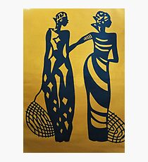Fashionable African Women Photographic Print