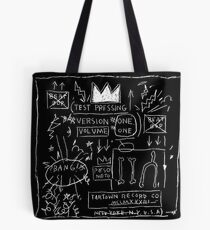 JEAN MICHEL BASQUIAT BEAT BOP ALBUM FAN ART. Tote Bag
