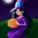 Magical Pumpkin  by sherriroseart