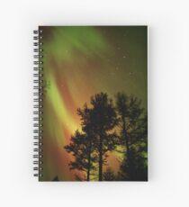 Aurora Borealis - The Northern Lights Spiral Notebook