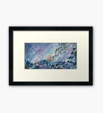 Mallee Sky Framed Print