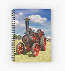 Traction Engine Spiral Notebook