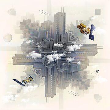 Kaleidoscope City by vinpez